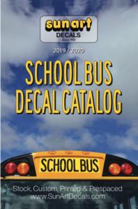 School Bus Decal Catalog