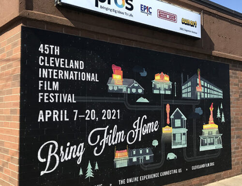 Repro's Textured Wall Mural Technology Used For Cleveland International Film Festival